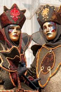 Carnival masks in Venice Italy © Luciano Mortula | Dreamstime.com